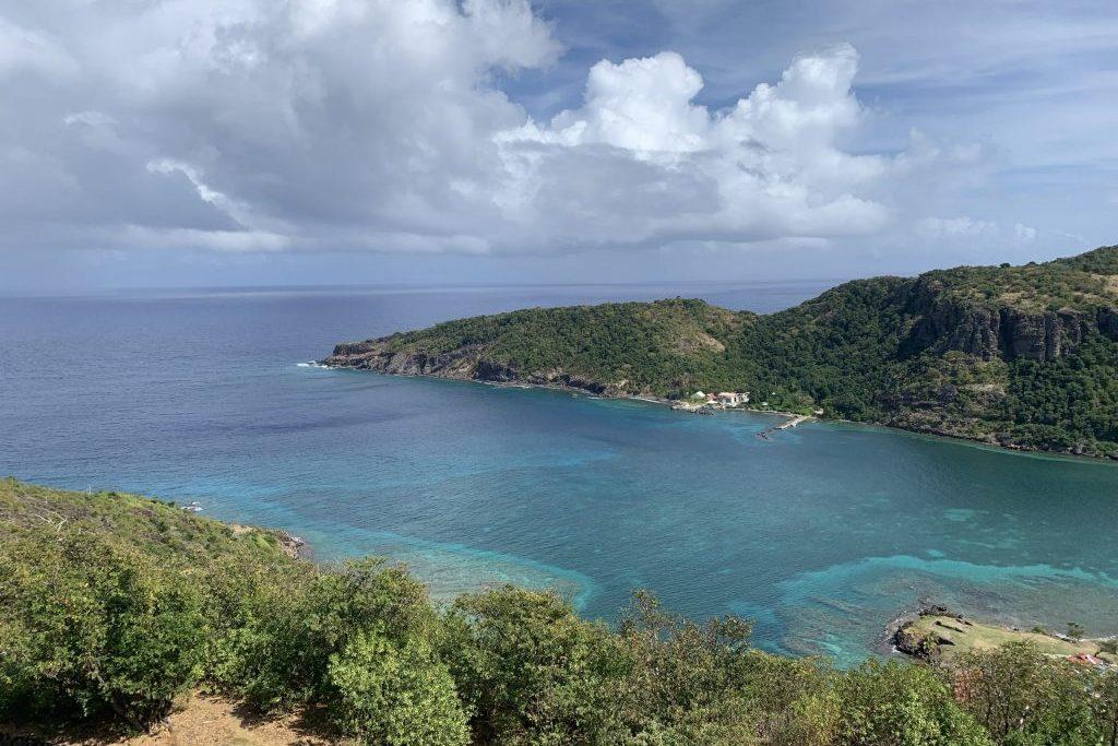 Bucht auf den Iles des Saintes