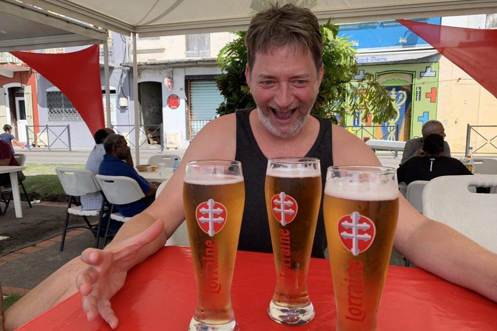 """""""Alles meins"""" Biergarten auf karibisch"""