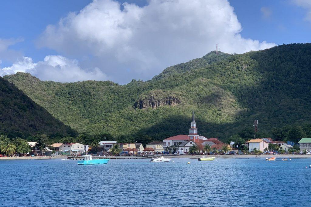 Herrliche Bucht in Martinique