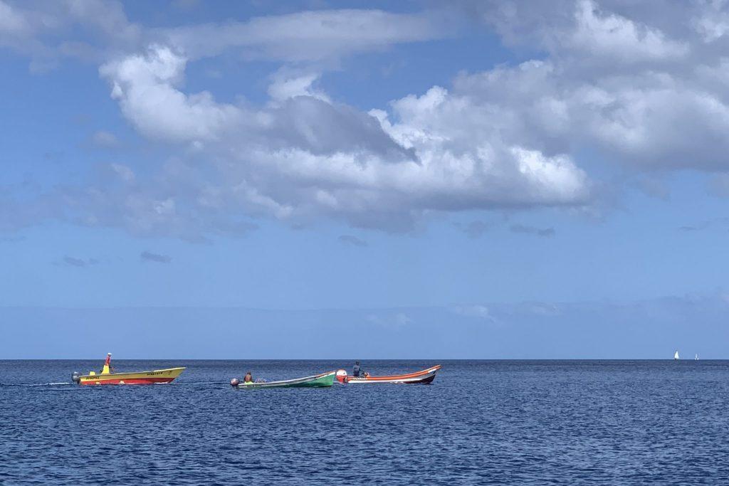Die Fischer sind unterwegs