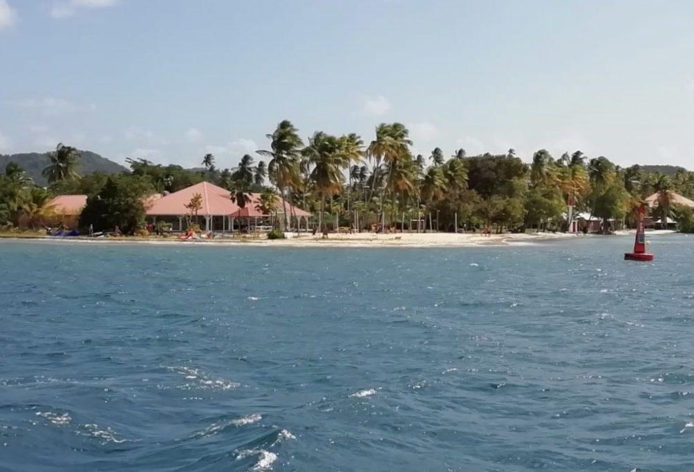 Herrlich karibischer Strand auf Martinique