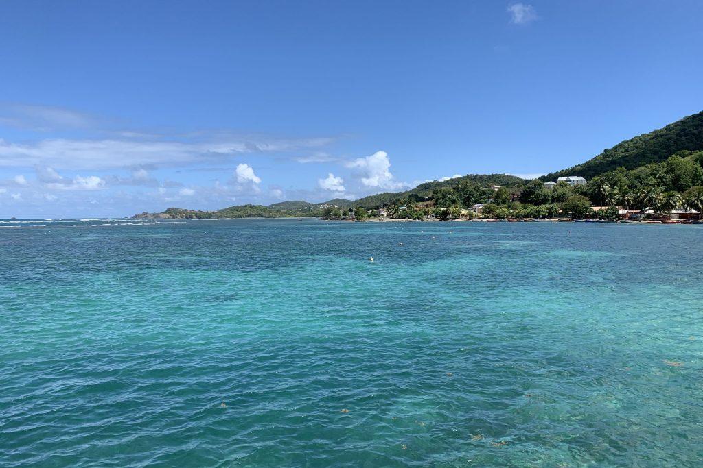 Herrliches Wasser Martinique