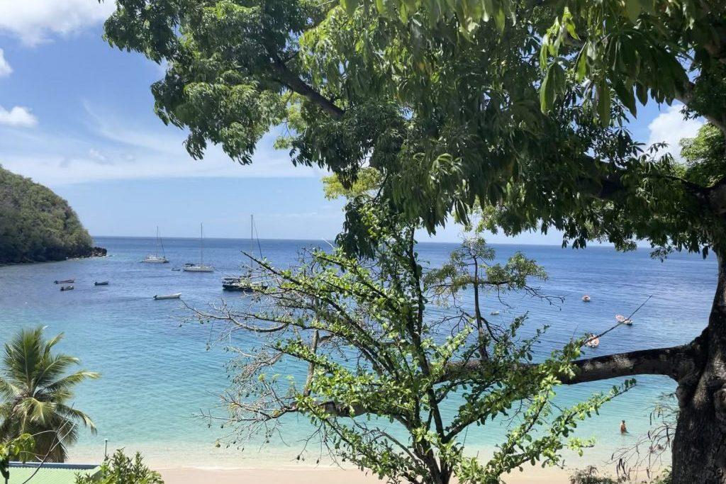 Segeln Karibik, Ankerbucht
