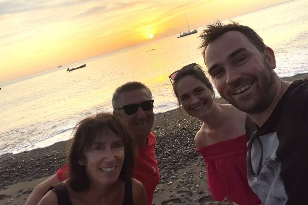 Segeln Karibik, Strandgang