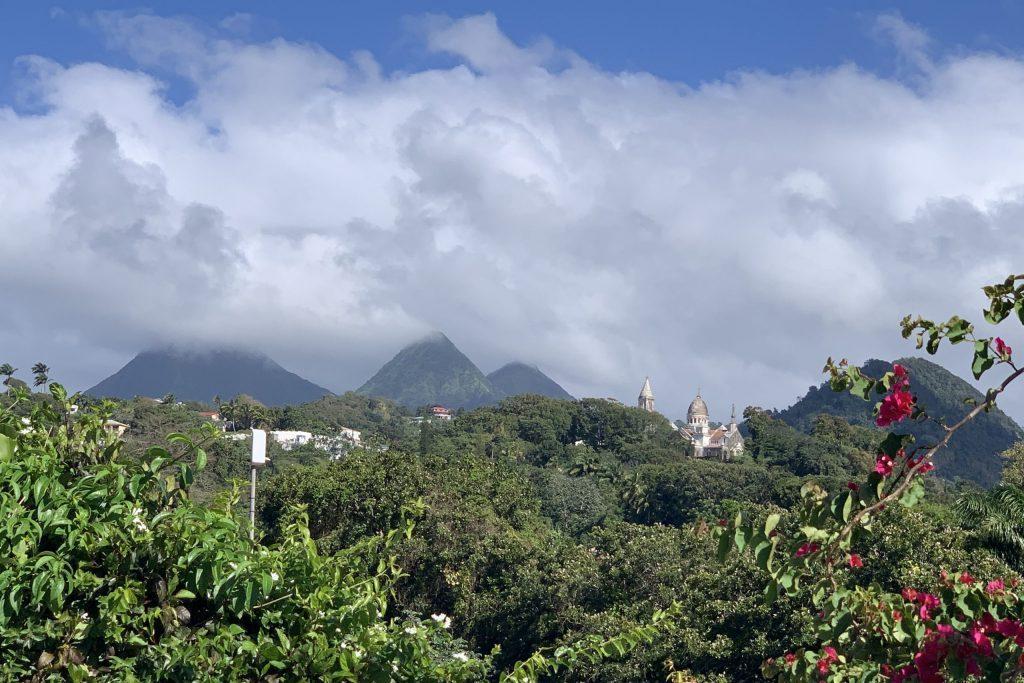 Das Inselinnere Martinique