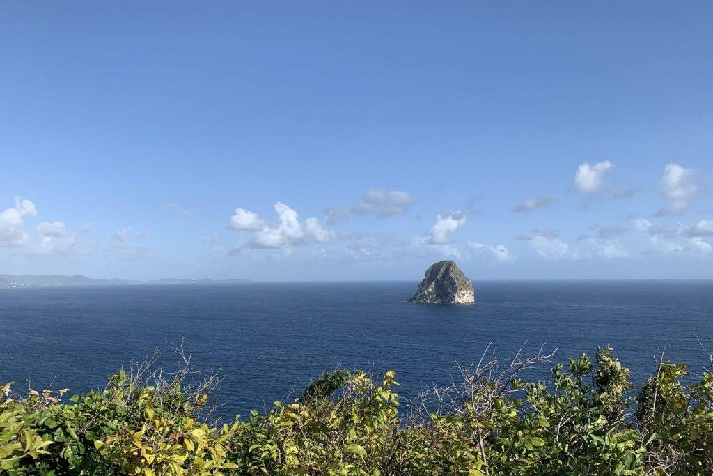 Rocher du Diamant oder Diamond-Rock Martinique