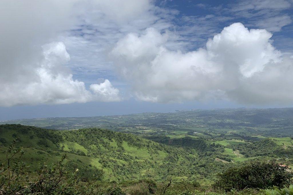 Ausblick Mont Pelé Martinique