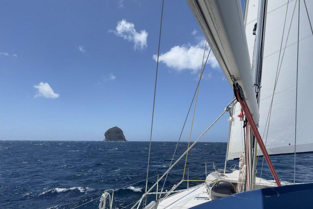 Segeln Karibik, Diamond Rock