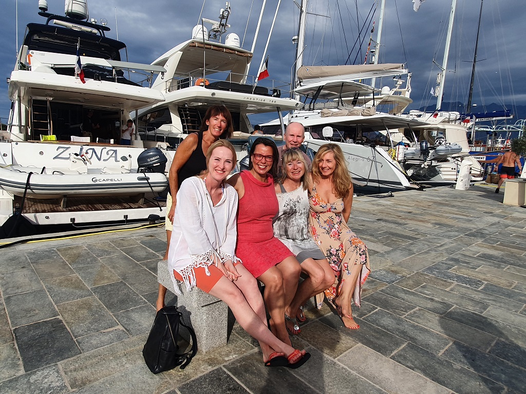 Die Crew in Calvi