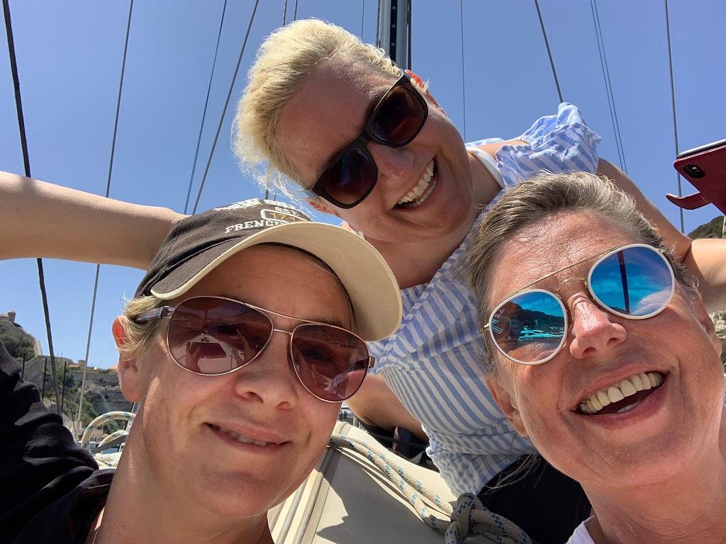 Spaß am Vorschiff