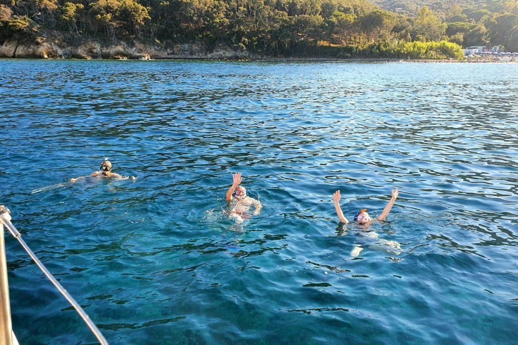 Schnorchelspaß bei Elba