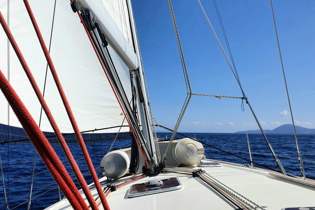 Perfekte Segelbedingungen vor Elba